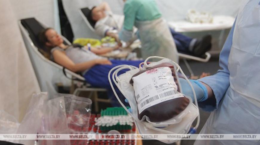 За последние 5 лет число доноров крови в Беларуси выросло более чем на 15 тысяч.