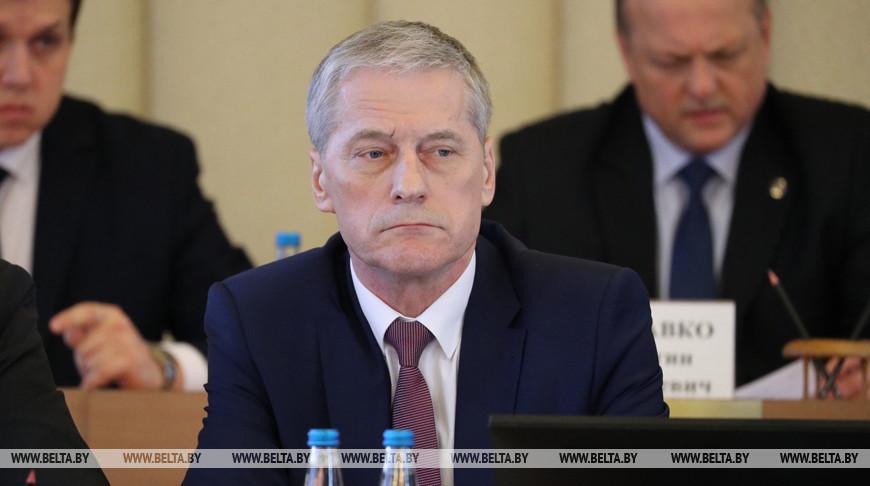 Болеслав Пирштук во время заседания