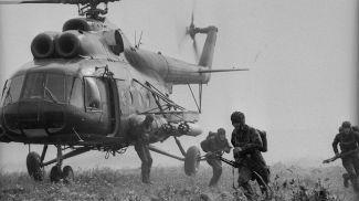 Войсковое учение Белорусского военного округа. Высадка десанта
