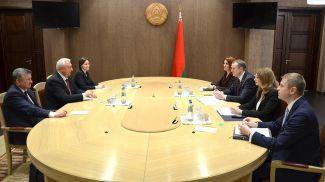 Во время встречи. Фото Совета Республики