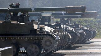 """Самоходная артиллерийская установка """"Гиацинт"""". Фото из архива"""