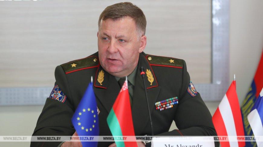 МЧС и ЕС запускают твининг-проект по развитию системы гражданской защиты в Беларуси