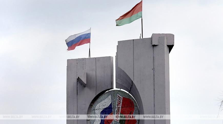 На белорусско-российской границе