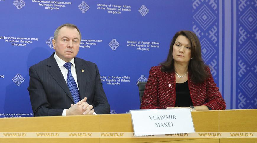 Владимир Макей и Анн Линде. Фото из архива