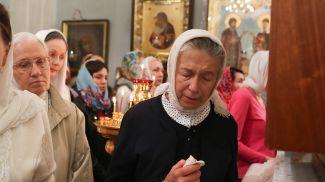 Пасхальное богослужение в Минском Свято-Духовом кафедральном соборе. Фото из архива