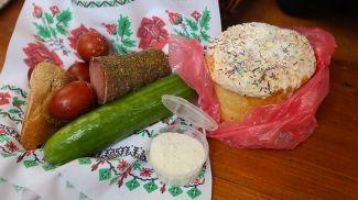 Пасхальная пища. Фото из архива