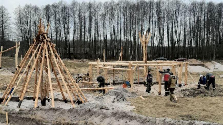 Вторую очередь археологического музея в Беловежской пуще могут открыть в мае