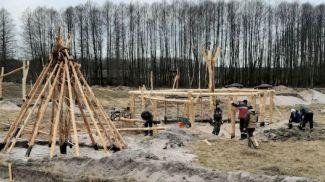 Во время раскопок. Фото Вадима Лакизы