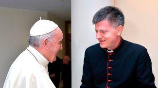 Папа Римский Франциск и Анте Йозич. Фото vaticannews.va