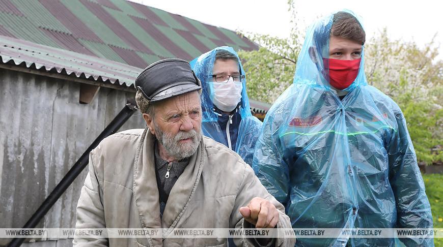 Более 1 тыс. заявок пожилых людей выполнено через молодежные горячие линии БРСМ