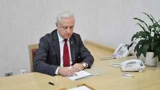 Сергей Рачков. Фото пресс-службы Совета Республики