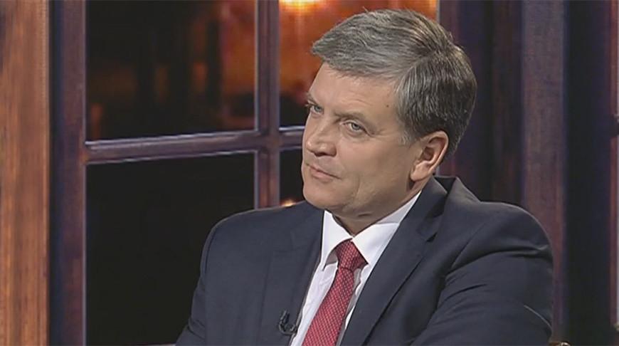 """Игорь Луцкий. Скриншот видео """"Беларусь 1"""""""