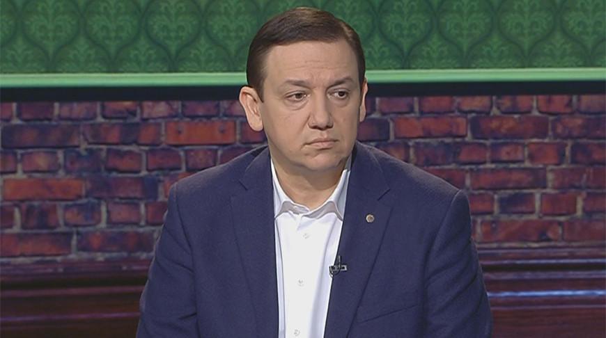 "Владимир Перцов. Скриншот видео ""Беларусь 1"""