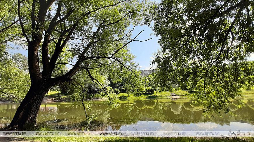 Река Мухля. Парк Павлова