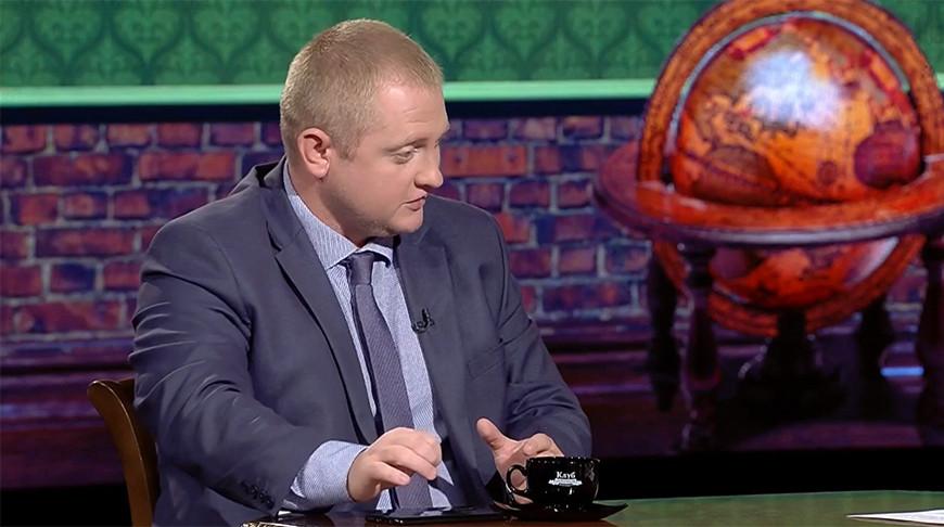 "Александр Шпаковский. Скриншот видео ""Беларусь 1"""