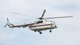 Вертолет МИ-8 МЧС. Фото из архива