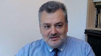 """Болгарский политолог Пламен Пасков. Скриншот видео """"Беларусь 1"""""""
