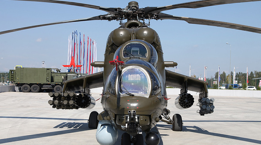 Вертолет Ми-35М. Фото vitalykuzmin.net