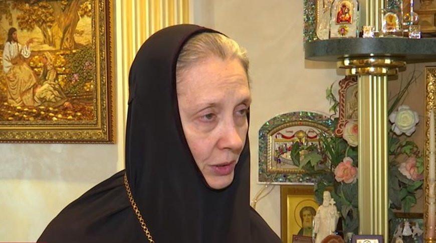 Игуменья Гавриила. Скриншот из видео СТВ