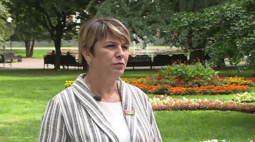 Жанна Чернявская. Скриншот из видео СТВ