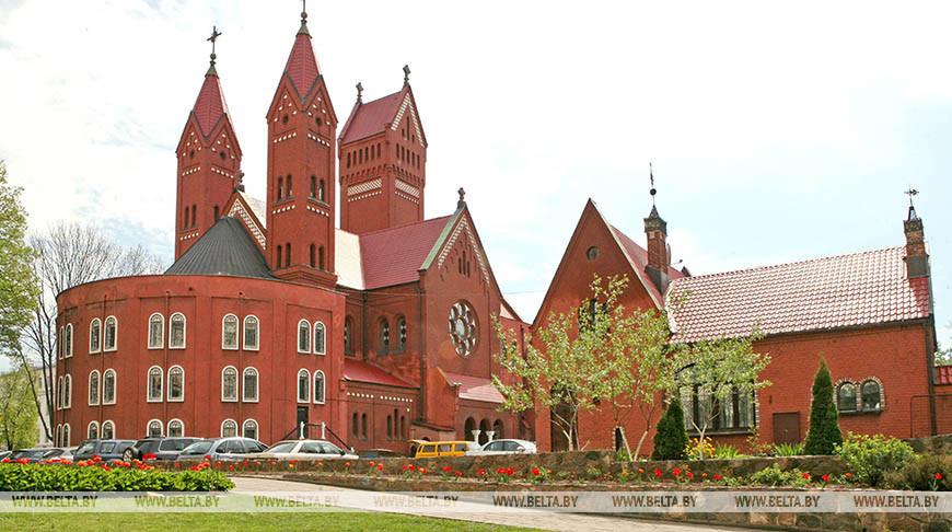 Красный костел в Минске. Фото из архива