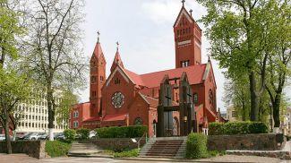 Костел святого Симеона и святой Елены (Красный костел) в Минске. Фото из архива