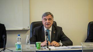 Александр Лашин на встрече со студентами БГУ. Фото Генпрокуратуры