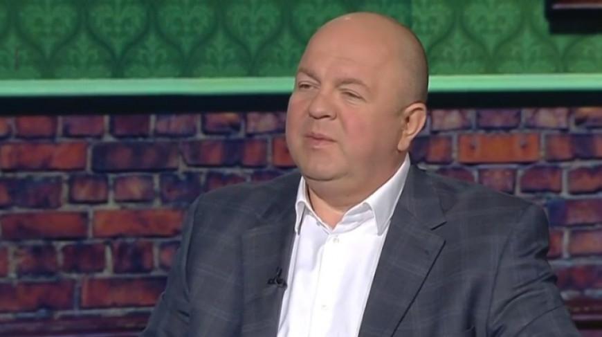 "Дмитрий Жук. Скриншот видео ""Беларусь 1"""