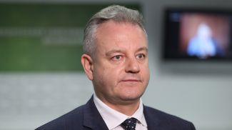 Сергей Рубникович во время круглого стола
