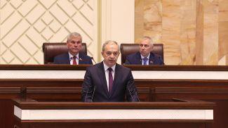 Глава администрации Президента Игорь Сергеенко