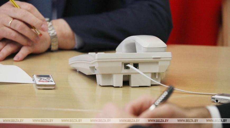 Мингорисполком и облисполкомы проведут 10 октября прямые телефонные линии