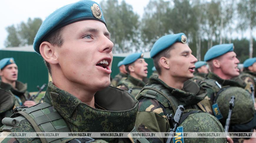Белорусские десантники. Фото из архива