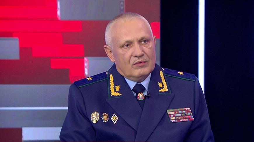 Прокурор Минска Олег Лаврухин. Скриншот видео СТВ
