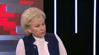 Министр труда и социальной защиты Ирина Костевич. Скриншот видео СТВ
