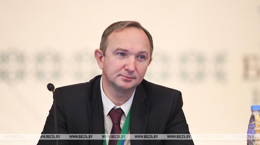 Сергей Харитончик во время форума
