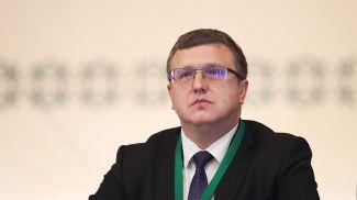 Александр Шумилин во время форума