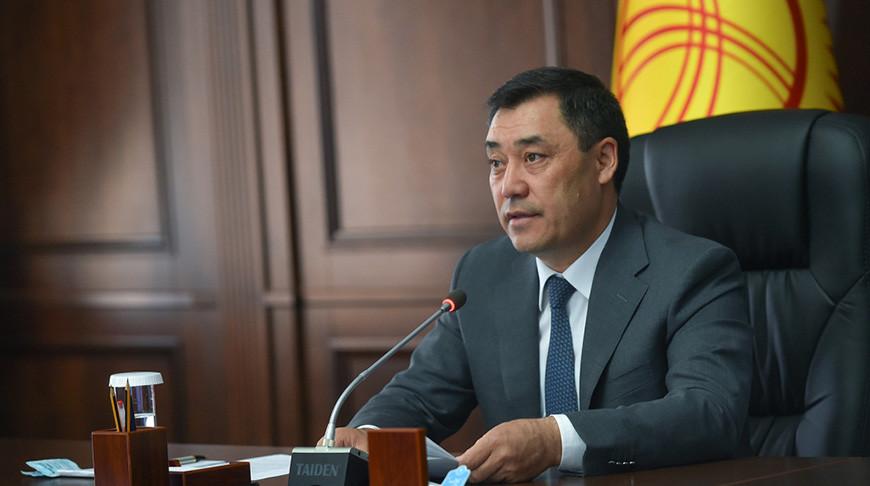 Садыр Жапаров. Фото ОДКБ