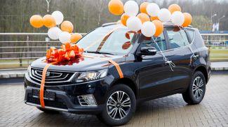 Первые автомобили от Белагропромбанка уже нашли своих владельцев среди вкладчиков банка