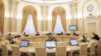 Во время заседания. Фото Исполкома СНГ