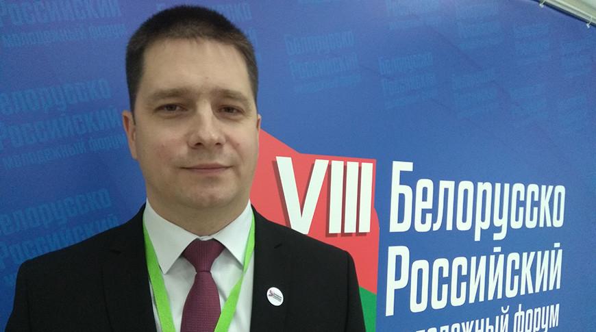 "Александр Кадлубай. Фото ЦК ""БРСМ"""