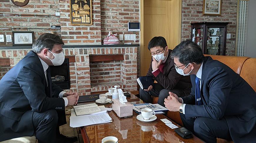 Посол Беларуси в Республике Корея обсудил с главой SK Bioscience сотрудничество в биофармацевтике