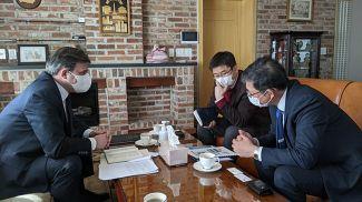 Фото посольства Беларуси в Республике Корея