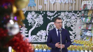 """Андрей Кунцевич во время акции """"Наши дети"""""""