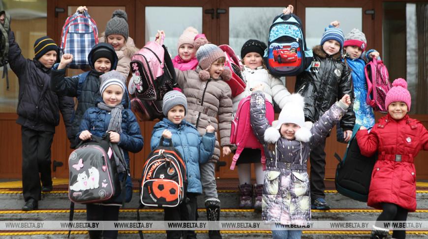 Зимние каникулы начинаются у белорусских школьников