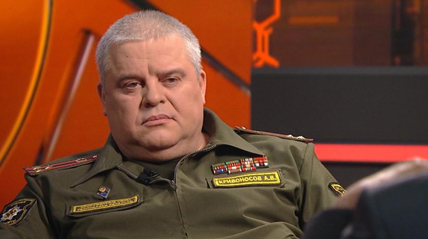 Андрей Кривоносов. Скриншот видео ОНТ
