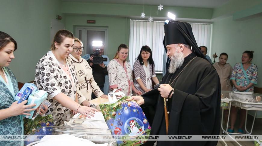 Архиепископ Брестский и Кобринский Иоанн поздравляет мам