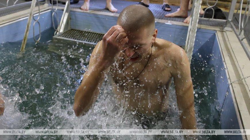 Во время крещенских купаний