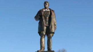 Памятник Константину Заслонову в Орше. Фото из архива