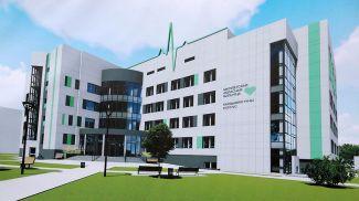 Изображение будущего кардиологического корпуса