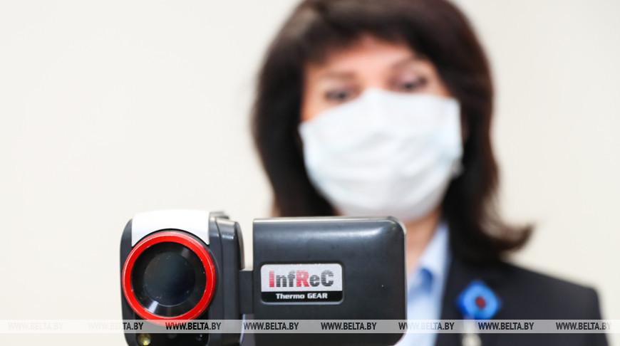 Санитарно-карантинный контроль пассажиров с применением тепловизионного оборудования в аэропорту